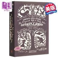 【中商原版】格林童话初版全集 英文原版 The Original Folk and Fairy Tales of the