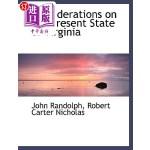 【中商海外直订】Considerations on the Present State of Virginia