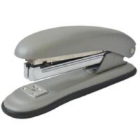 得力0345订书机装订机商务型办公文具省力型中号订书器 全金属机身