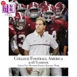 【中商海外直订】College Football America 2018 Yearbook