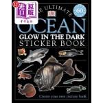 【中商海外直订】The Ultimate Ocean Glow in the Dark Sticker Book [W