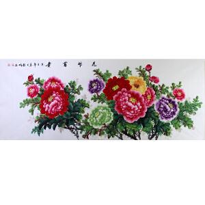 中国美协会员,中国书协会员 侯桂峰(花开富贵)11