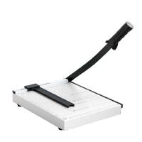 得力切纸刀 A4裁纸刀钢制8014 手动切纸机 12寸相片照片切刀 单只包邮