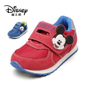 鞋柜/迪士尼男童运动鞋秋冬中小童休闲鞋加绒保暖跑步鞋