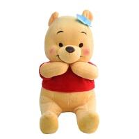 经典卡通形象小熊维尼毛绒玩具 儿童玩偶公仔