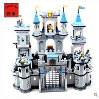 启蒙儿童拼装玩具塑料拼插积木世纪城堡模型狮王城堡儿童节礼物