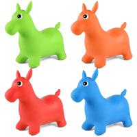 骑马玩具儿童充气小马跳跳马加大幼儿园宝宝坐骑木马