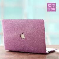 苹果笔记本电脑保护壳macbook12超薄磨砂套13寸air15pro外壳配件15.6全套超轻散热1