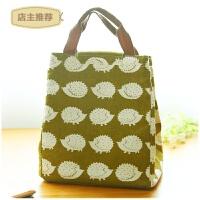 防水保温饭盒袋铝箔加厚保冷袋子装带饭的便当包女提饭盒的手提包SN5675