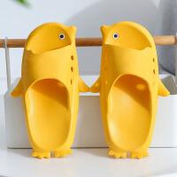 儿童拖鞋 男女童夏可爱企鹅公主女宝宝室内女童拖鞋中大童男童浴室防滑凉拖鞋子亲子鞋