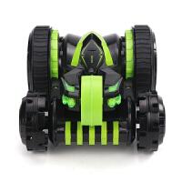 电动四驱赛车翻滚车翻斗车玩具男孩儿童遥控汽车越野车变形特技车