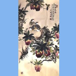 河南美术家协会会员,新乡市美协会员,河南国画轩画廊特约画家武三丁(平安是福)