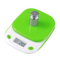 家用电子称0.1g厨房计量秤蛋糕烘焙称食物秤迷你克重称小型秤 中文粉色5kg / 1g(无赠品)