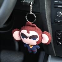 汽车钥匙扣可爱女创意钥匙环车钥匙链挂件高档车饰品