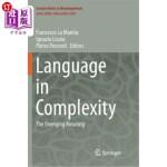 【中商海外直订】Language in Complexity: The Emerging Meaning