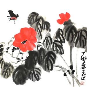 1915――2011,1956年任北京国画院院长兼秘书长,作品被多个国家和众多博物馆收藏崔子范(忙碌