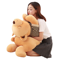 泰迪熊公仔布娃娃抱抱熊生日礼物送女友趴趴熊毛绒玩具睡觉抱枕