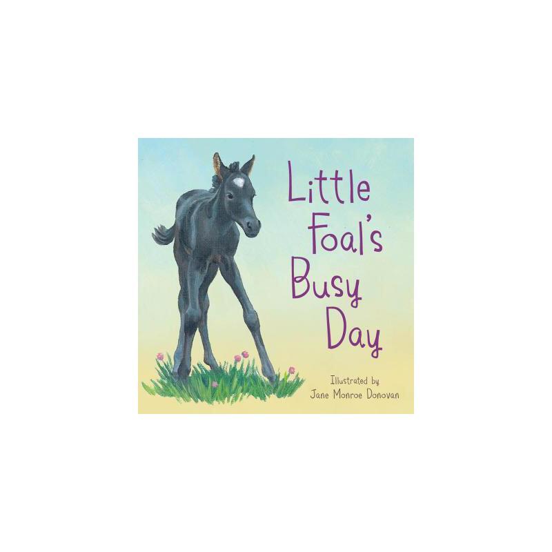 【预订】Little Foal's Busy Day 预订商品,需要1-3个月发货,非质量问题不接受退换货。