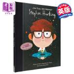 【中商原版】小小孩大梦想 霍金 英文原版 Stephen Hawking 精装 5-8岁 人物小传记 名人科普