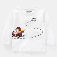 男童长袖T恤2019春装春秋新款童装儿童3岁1宝宝小童上衣潮