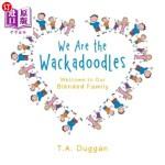 【中商海外直订】We Are the Wackadoodles: Welcome to Our Blended Fam