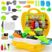儿童过家家工具箱玩具套装维修理工具台梳妆厨房做饭玩具男孩