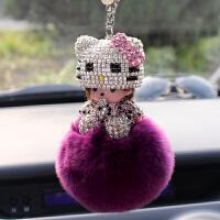 汽车挂件女神款车内车里创意女士个性卡通饰品车载后视镜挂饰