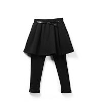 【双12限时购】女童加绒裙裤冬装儿童打底裤女童加厚洋气长裤