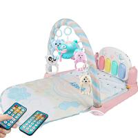 婴儿键身琴 新生婴儿健身架器脚踏钢琴游戏毯宝宝0-1岁3-6-12个月玩具女孩