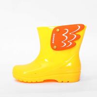 �和�雨靴 �h保男童女童�W生小孩水鞋防滑雨鞋