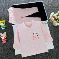 2019春款儿童装婴儿秋衣秋裤套装开衫内衣服装3宝宝衣服0-1岁