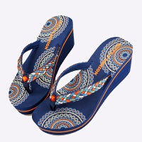 20180824053817296越南式鞋女拖鞋人字拖夏季高跟坡跟橡胶底防滑休闲度假沙滩凉拖