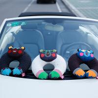 汽车u型枕护颈枕车用头枕可爱创意车枕头靠枕靠垫
