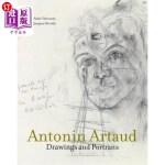【中商海外直订】Antonin Artaud: Drawings and Portraits