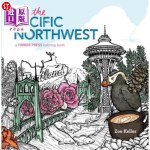 【中商海外直订】Color the Pacific Northwest: A Timber Press Colorin