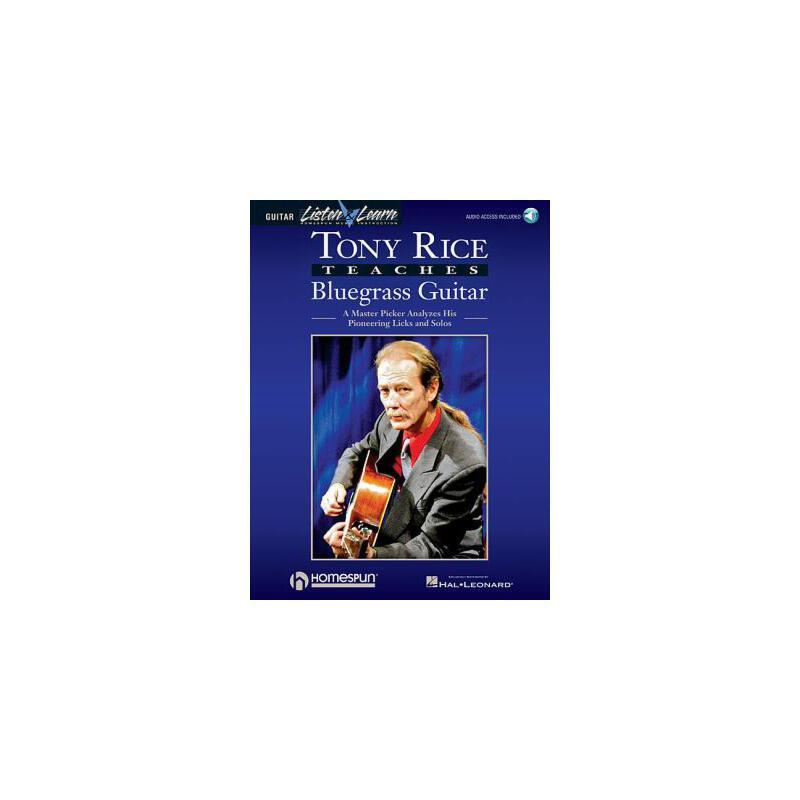 【预订】Tony Rice Teaches Bluegrass Guitar: A Master Picker Analyzes His Pioneering Licks and Solos 预订商品,需要1-3个月发货,非质量问题不接受退换货。