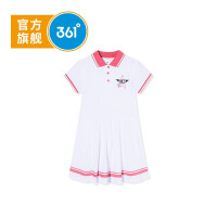 【折后叠券预估价:51.6】361度童装 女童针织连衣裙2020年夏季新品女童连衣裙K61923494