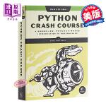 【中商原版】Python编程:从入门到实践(第二版)英文原版 Python Crash Course, 2nd Edi