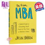 【中商原版】MBA学习视图版:快速掌握2年商业学校课程要点 英文原版 The Visual MBA: A Quick