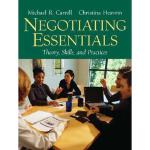 【预订】Negotiating Essentials: Theory, Skills, and Practices