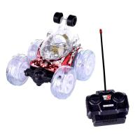 翻跟头玩具车 翻滚车特技车翻斗车遥控车玩具女孩男孩儿童充电动汽车幼儿园礼品