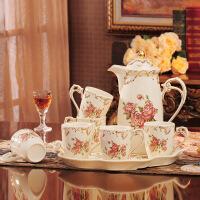 欧式茶具套装家用水具套装水杯茶杯套装冷水壶凉水壶杯具杯子套装 玫瑰D款