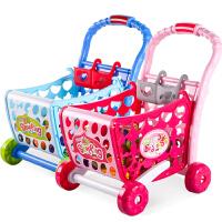 女孩过家家迷你超市推车 宝宝购物车手推车儿童购物车玩具小推车