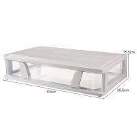 床底收纳箱扁平抽屉式塑料储物箱床下衣服收纳箱整理箱衣柜储物箱