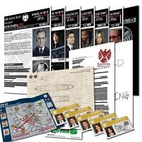 神盾局特工档案SHIELD身份ID卡机密文件道具漫威周边