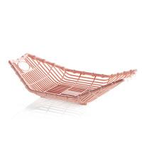 塑料干果盘零食收纳筐篮子家用客厅水果盘茶几水果篮干果盒