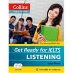 现货 英文原版 Collins Get Ready for Ielts Listening (Collins Engl