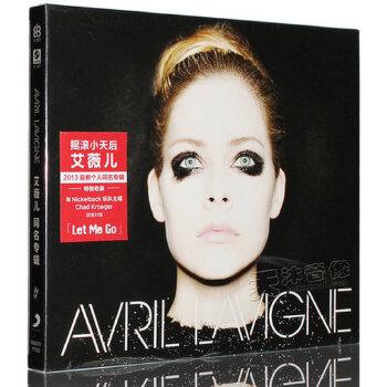 现货正版 Avril Lavigne艾薇儿 2013同名专辑 CD 歌词本 【100%正版光盘光碟不是图书!送董明珠说管理在线课程4小时和好父母决定孩子一生在线课程5小时】