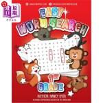 【中商海外直订】Easy Word Search 1st Grade: Activities Homeschool B