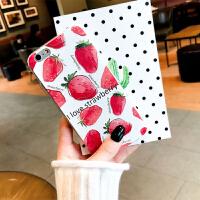 草莓手机壳苹果7plus手机壳女款防摔iphone6s保护套透明8x软硅胶